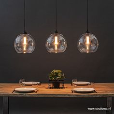 Dining Lighting, Kitchen Island Lighting, Glass Pendant Light, Pendant Lighting, Roof Light, Chair Design, Lighting Design, Interior Inspiration, Diy Home Decor