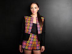 MUMBAI MADNESS | Amber Whitecliffe Mumbai, Madness, Amber, Drop, India, Blazer, Jackets, Collection, Women