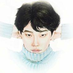 รูปที่ (11) หล่อเกินคาด Korean Art, Korean Drama, Ryu Joon Yeol, Suwon, Nct Doyoung, Kim Jung, My Youth, Kpop Fanart, Girl Day