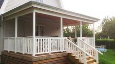 Exterior Design, Porch, Home Improvement, Deck, Pergola, Outdoor Decor, House, Home Decor, Remodeling Ideas