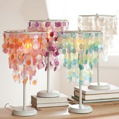 Capiz Table Lamp | PBteen