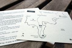 SAMPLES  Custom Map   Digitally printed by MapleTea on Etsy