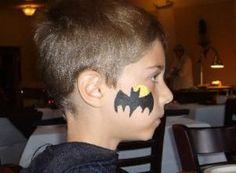 cheek+art | Batman Cheek Art | {Facepainting} | Pinterest ...