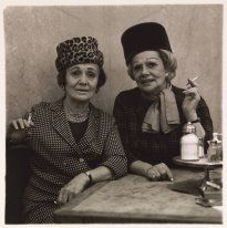 Two Ladies at the Automat (1966) by Diane Arbus, Neil Selkirk