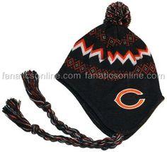 Chicago Bears Baby Large Newborn Small Toddler Rope Knit Beanie Hat New RARE | eBay