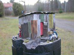 Slum 1/24 Scale Model Diorama