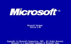 Microsoft Windows 2.03