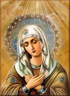 Jesús el Tesoro Escondido: Imágenes Virgen María 1