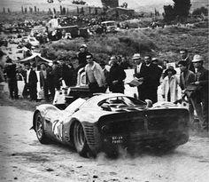1966 Targa Florio , entered by S.p.A. Ferrari SEFAC , Ferrari 330 P3 ,driven by Vaccarella/Bandini Ferrari 330 P3 , DNF>accident .