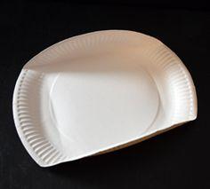 Körbchen aus einem Pappteller basteln Pie Dish, Diy And Crafts, Plates, Dishes, Biscotti, Tableware, Cookies, Cooking, Easter Ideas For Kids