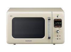 DAEWOO kog-6lbc Mikrowelle 20 Liter, Vintage Style mit Grill, beigesparen25.com , sparen25.de , sparen25.info