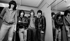 The Ramones photographed by Adrian Boot
