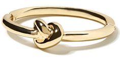 Banana Republic Knot Bracelet in gold, $35 (Céline dupe)