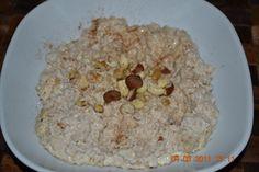 Vegetarisch und Vegan abnehmen: Bananen Porridge (vegetarisch oder vegan)