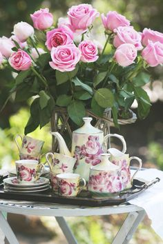 Pretty tea cups ♡