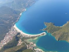 Paragliding over Oludeniz, Turkey - 2nd best place to do it in the world!