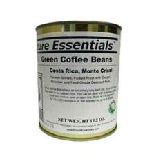 Case of Costa Rican Organic Green Coffee Beans - Future Essentials, 12 Cans
