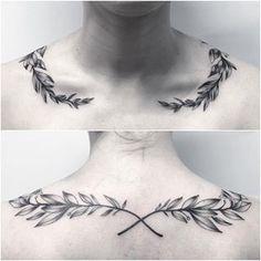Altgriechisches Tattoo, Tattoo Band, Herz Tattoo, Bone Tattoos, Leg Tattoos, Body Art Tattoos, Tattoos For Guys, Sleeve Tattoos, Tatoos