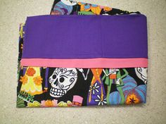 Great gift for all ages - toddler to elderly. Christmas stocking stuffer, birthday, other holiday or just because! Use for travel, summer camp, hunting/fishing camp, travel trailer, watching TV, sleepovers or just for fun! Standard/Queen size pillow case features skulls and skeletons with