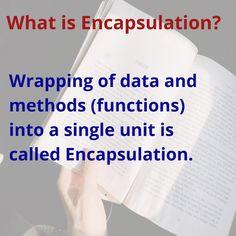 Java encapsulation Java Tutorial, College Students, Concept, Education, Learning, Blog, Blogging, Student, Teaching