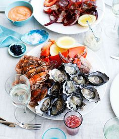 Dietmar+Sawyere:+Seafood+platter+with+three+sauces