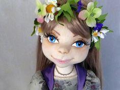Lisa - Poupées de collection faites à la main - poupée d'Art - poupée d'artiste 50 cm : Jeux, jouets par didolls