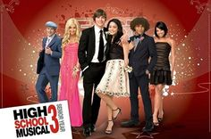 High School Musical 3 : Prom Group - Maxi Poster 91.5cm x 61cm (new & sealed)