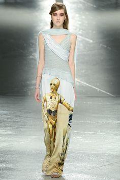Rodarte Fall 2014 - Star Wars C3PO