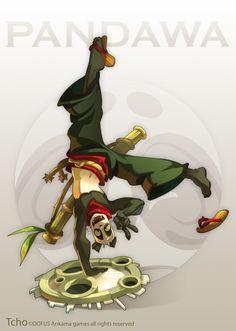Dofus Character Pandawa by tchokun.deviantart.com on @DeviantArt