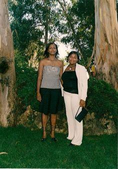 Eu e minha tia
