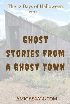 Halloween would not be Halloween without a good ghost story. This is the story of a Ghost town named Jerome in Arizona