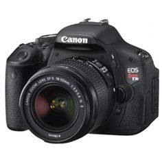 Canon Rebel T3i 18MP DSLR Camera With 18-55mm IS Lens Kit $699.98 at Future Shop