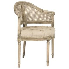 Aidan Gray Furniture Blue Tufted Occasional Chair #laylagrayce