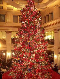 walnut room christmas tree   Christmas tree