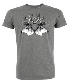 Highland Coo T-shirt in Gift Ideas for Men Unique Tee Shirt Design ...