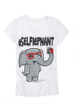 Selfiephant Tee - View All Graphic Tees - Graphic Tees - Clothing - dELiA s 62fac38d13e