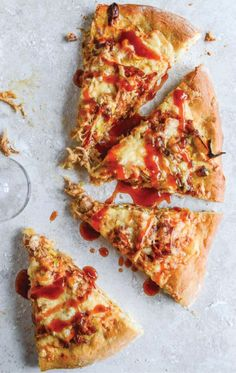 Pulled Pork Pizza.