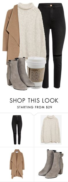 Untitled #5273 by laurenmboot on Polyvore featuring Zara, Harris Wharf London, H&M and Topshop