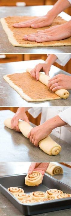SECRETS TO CINNAMON ROLLS