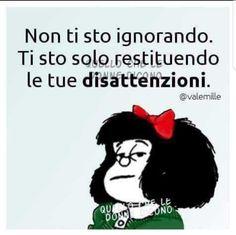 Snoopy, Italian Quotes, Sarcasm Humor, Emoticon, Vignettes, Favorite Quotes, Funny Quotes, Relationship, Matilda