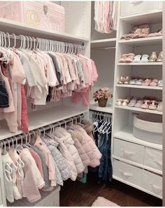 Baby Bedroom, Baby Room Decor, Girls Bedroom, Baby Girl Closet, Dream Baby, Closet Designs, Girl Room, Future Mom, Organisation Ideas