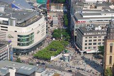 Don't Miss Germany's 6 Most Popular Shopping Streets: Frankfurt's Shopping Street: Zeil