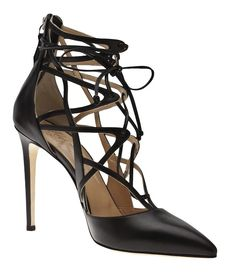 Alejandro Ingelmo Lace Up Pump: The Dreamweaver