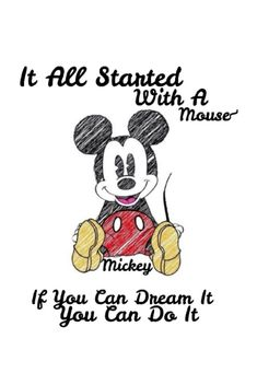 Mickey mouse phrase