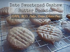 Date Sweetened Cashew Butter Cookies   @Eva S. Kisses and Dirty Dishes