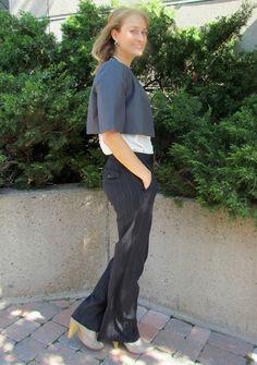 a second glance.: Bolero blazer