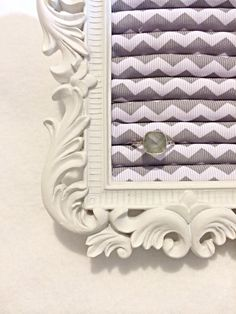 Chevron small ring display by DaintyCreations on Etsy, $22.00