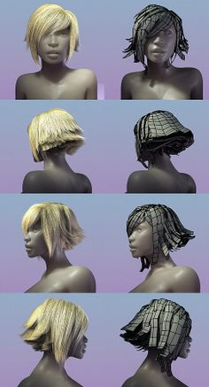 167 Best 3d Hair Images In 2019 Character Design Character Design