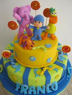 torta pocoyo en crema - Buscar con Google