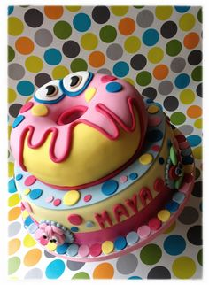Oddie moshi monster cake by The Cake Queen!!!